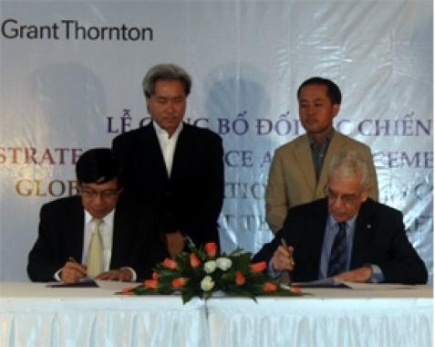 GIBC và Grant Thornton Việt Nam hợp tác liên minh