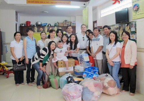Khởi động chương trình CSR đầu năm 2014 của Young GIBC