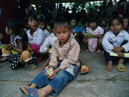 GIBC chắp cánh ước mơ đến các trẻ em nghèo