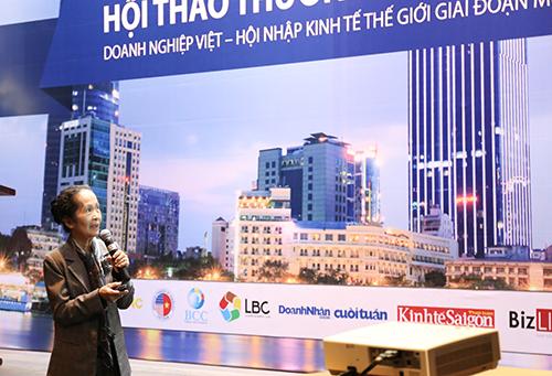 """Bà Phạm Chi Lan: """"Đừng để Việt Nam chỉ tạo cơ hội cho người khác!"""""""