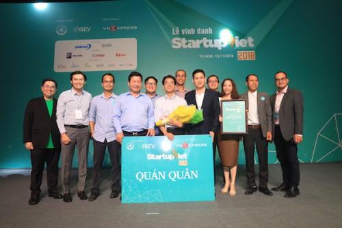 Ông Phạm Phú Trường tham gia Hội đồng Giám Khảo cuộc thi Startup Việt 2018